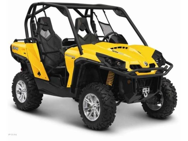2013 Can-Am Commander™ XT™ 1000, motorcycle listing
