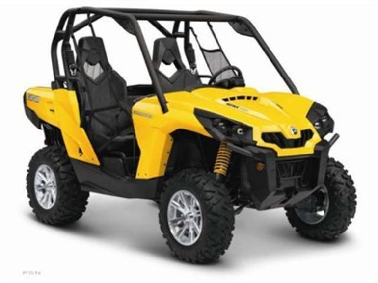 2013 Can-Am Commander™ XT™ 800R, motorcycle listing