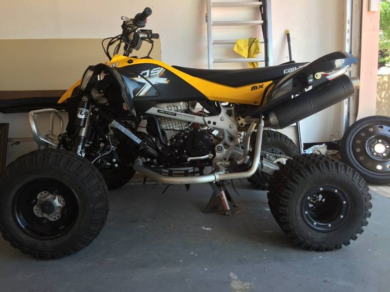 2013 Can-Am Ds 450 EFI X MX, motorcycle listing