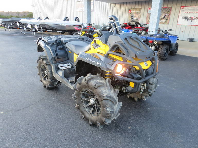 2013 Can-Am OUTLANDER 1000 XMR STK 001476, motorcycle listing