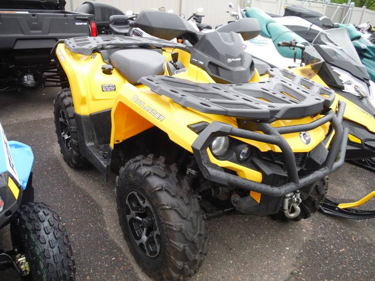 2013 Can-Am OUTLANDER 500 XT, motorcycle listing