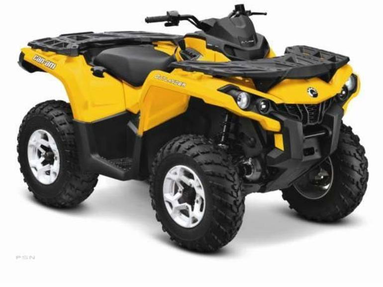 2013 Can-Am Outlanderâ¿¢ DPSâ¿¢ 650, motorcycle listing