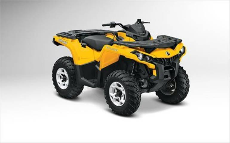 2013 Can-Am Outlander 650DPS, motorcycle listing