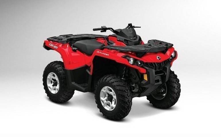 2013 Can-Am Outlander 800R EFI, motorcycle listing