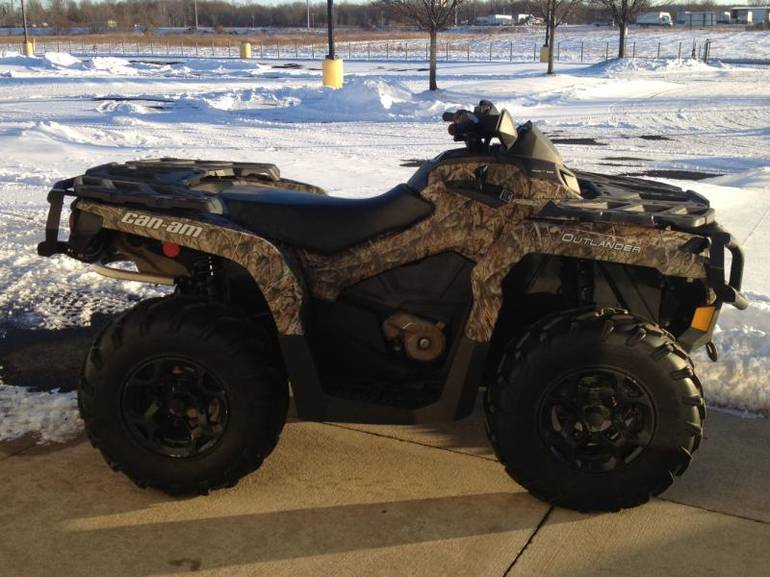 2013 Can-Am Outlander 800R XT, motorcycle listing