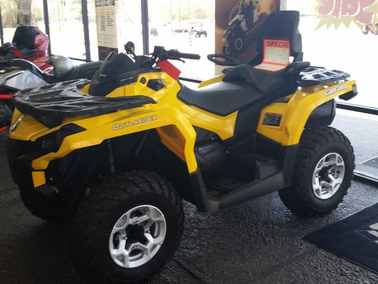 2013 Can-Am Outlander  MAX DPS  800R, motorcycle listing