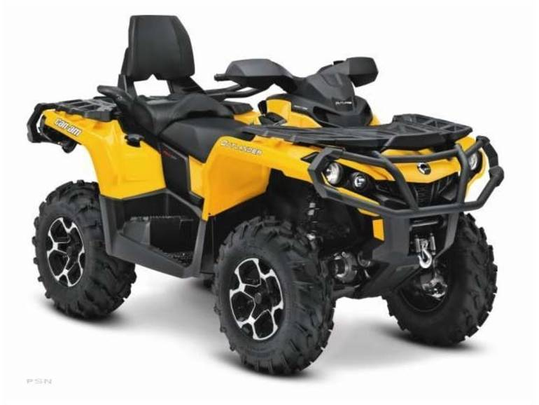 2013 Can-Am Outlander MAX XT™ 800R, motorcycle listing