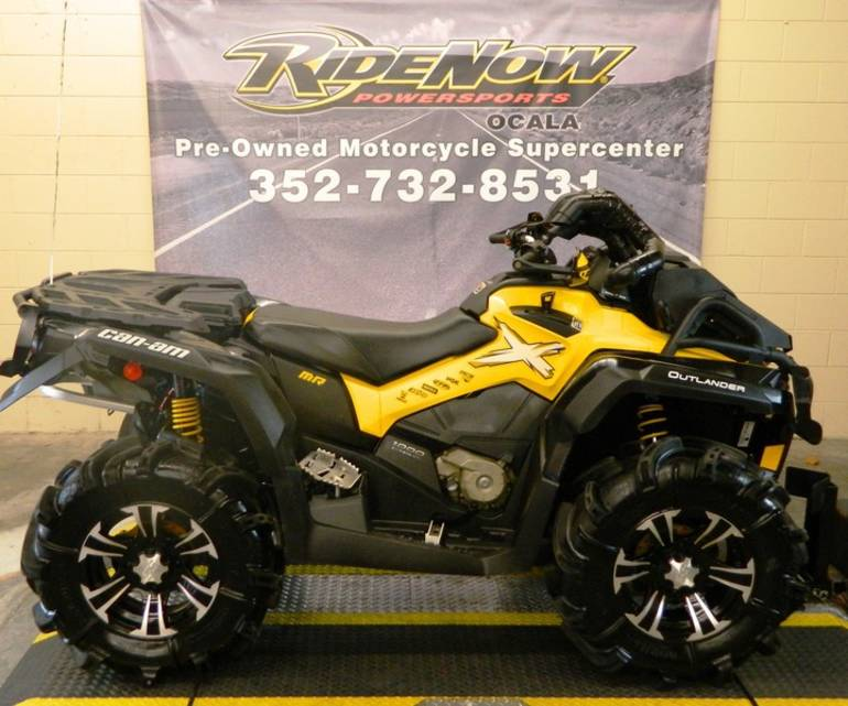2013 Can-Am Outlander X mr 1000, motorcycle listing