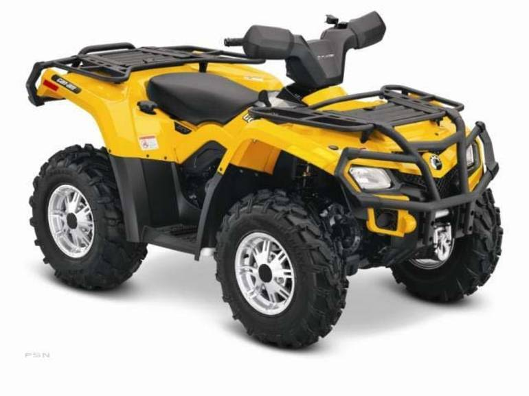 2013 Can-Am Outlander XT 400, motorcycle listing