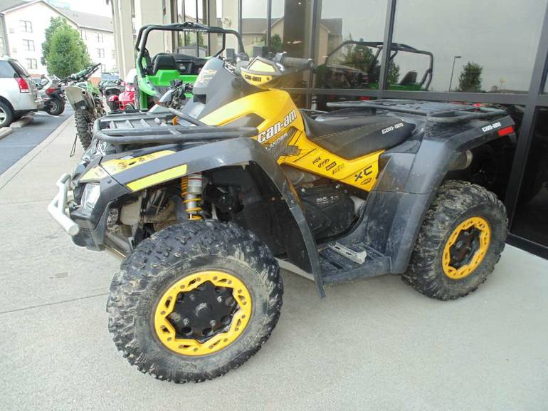 2013 Can-Am Outlander XT 800R, motorcycle listing