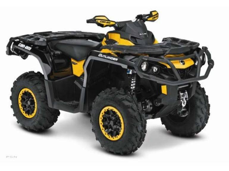2013 Can-Am Outlander XT-P 800R, motorcycle listing