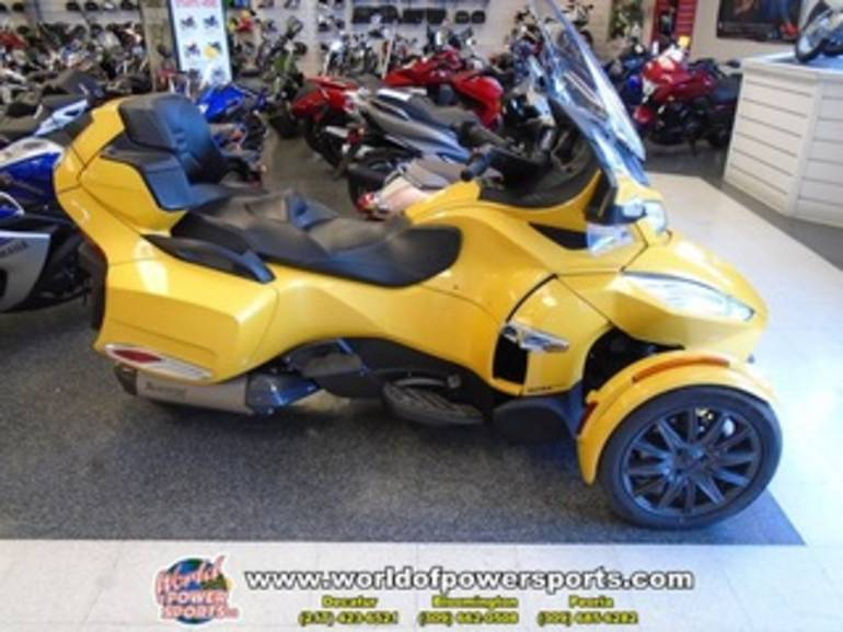 2013 Can Am RTSE5, motorcycle listing