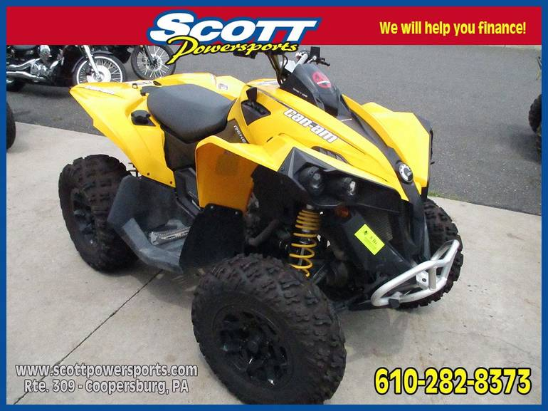 2013 Can-Am Renegade® 800R, motorcycle listing