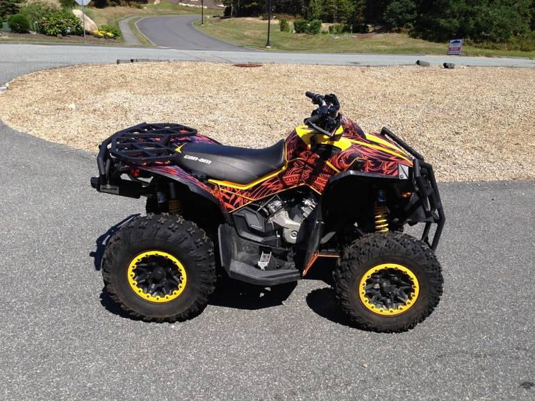 2013 Can-Am Renegade X XC 1000, motorcycle listing
