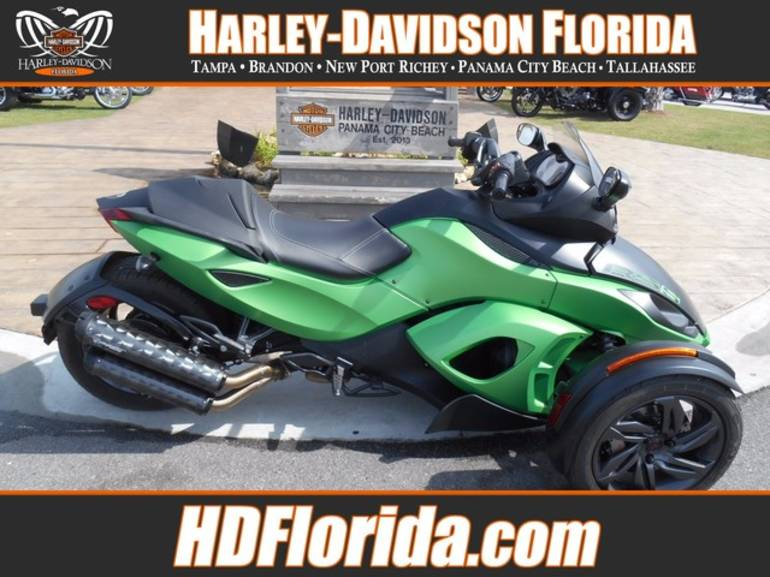 2013 Can-Am SPYDER, motorcycle listing