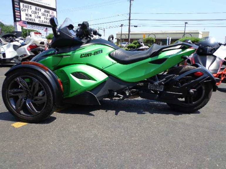 Spyder Motorcycle For Sale >> 2013 Can Am Spyder Rs S Sm5 Sportbike Motorcycle From