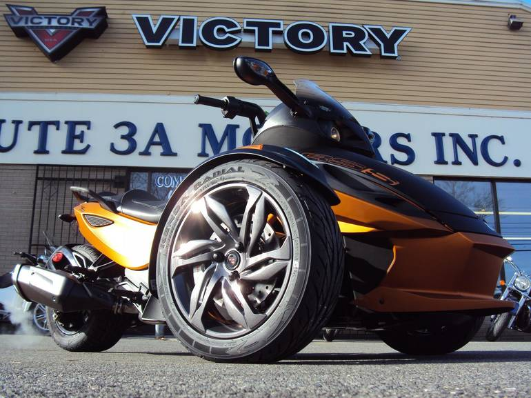 2013 Can-Am Spyder RS-S, motorcycle listing