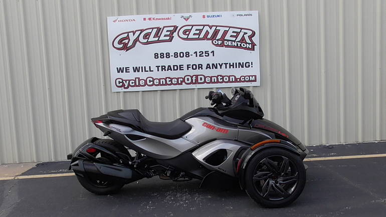 2013 Can-Am Spyder RS SE5, motorcycle listing
