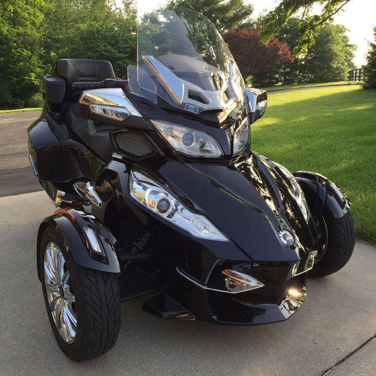 2013 Can-Am Spyder RT LIMITED Touring Motorcycle From