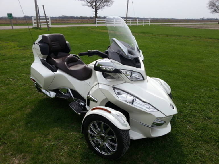 2013 Can-Am Spyder RT-LTD, motorcycle listing