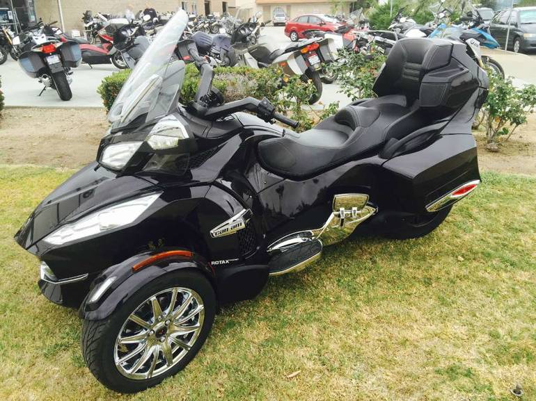 2013 Can-Am Spyder RT Limited, motorcycle listing