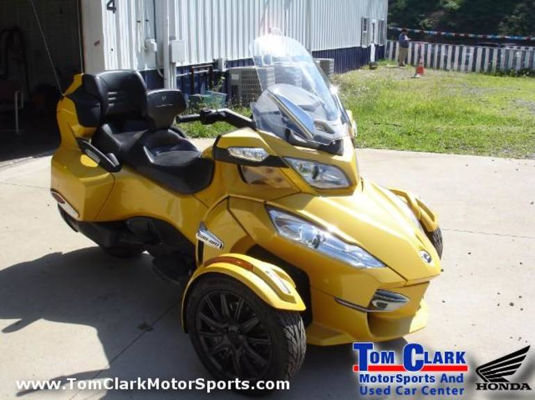 2013 Can-Am Spyder RT-SE5, motorcycle listing
