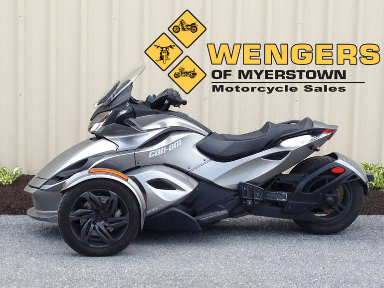 2013 Can Am Spyder STS SE5, motorcycle listing