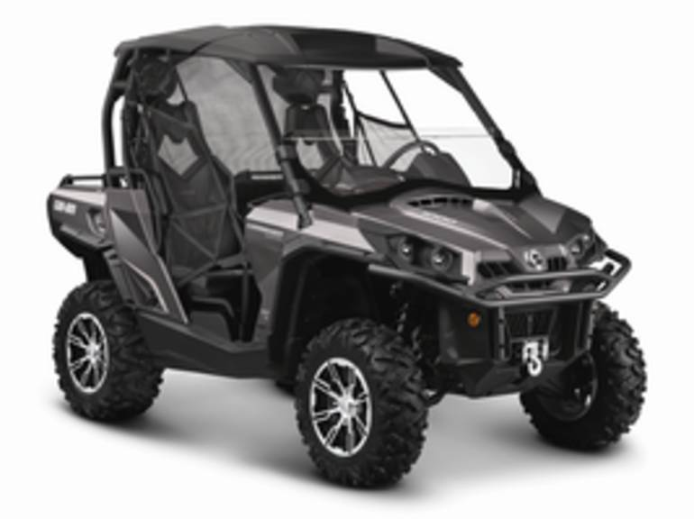 2014 Can-Am Commander 1000 Limited, motorcycle listing