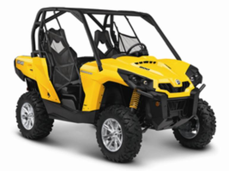 2014 Can-Am Commander DPS 800, motorcycle listing