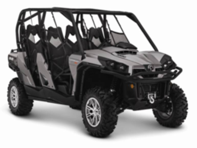 2014 Can-Am Commander MAX XT 1000 Pure Magnesium Met, motorcycle listing