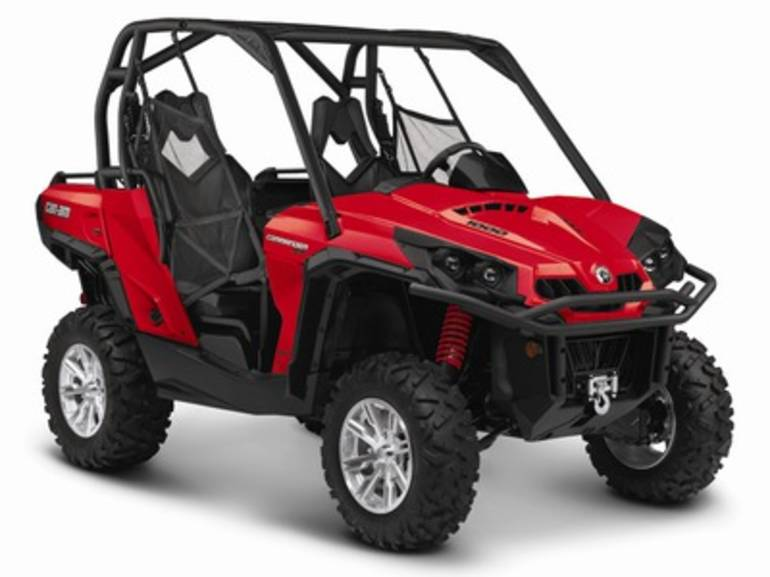 2014 Can-Am Commander XT 1000, motorcycle listing