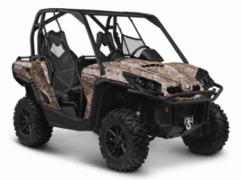 2014 Can-Am Commander XT 800 Camo, motorcycle listing
