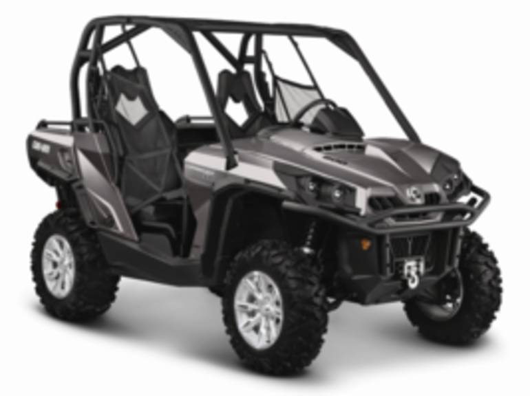 2014 Can-Am Commander XT 800 Pure Magnesium Metallic, motorcycle listing