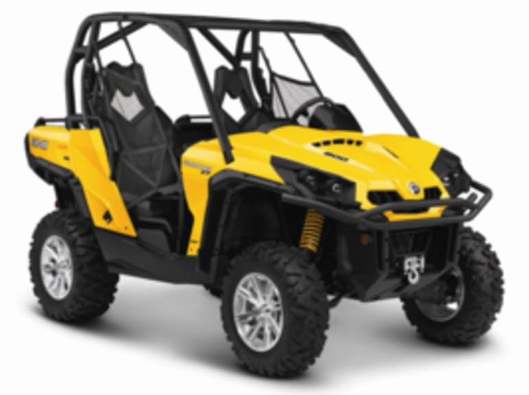 2014 Can-Am Commander XT 800, motorcycle listing