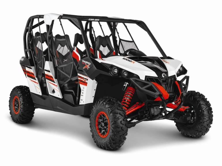 2014 Can-Am Maverick MAX X rs DPS 1000R White, Black, motorcycle listing