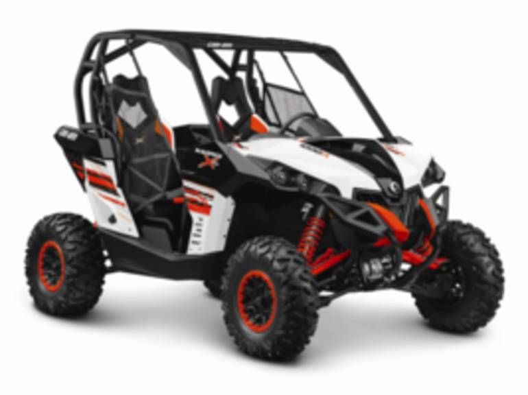 2014 Can-Am Maverick X rs DPS 1000R White, Black & C, motorcycle listing