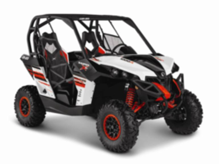 2014 Can-Am Maverick X xc DPS 1000R White, Black & C, motorcycle listing