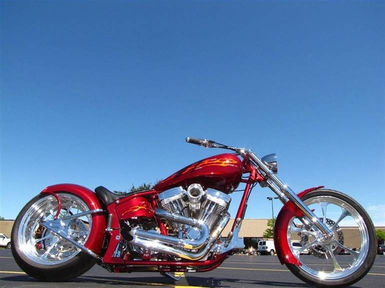 2002 Custom Built NASTY BOY CHOPPER, motorcycle listing