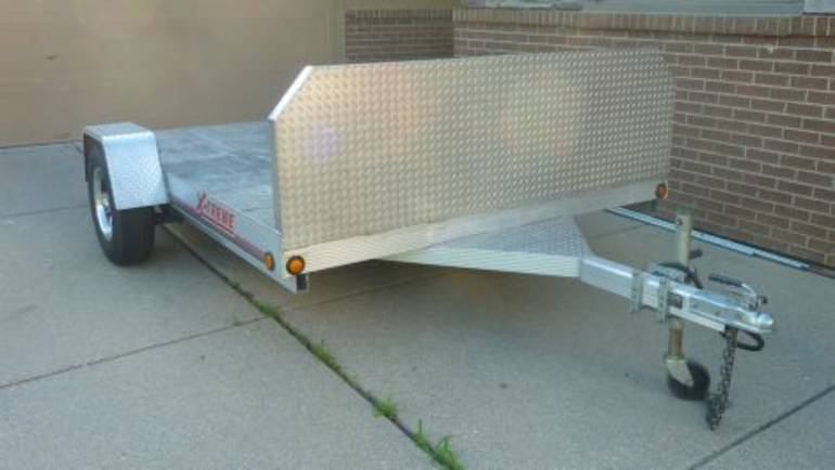 2002 Custom Motorcycle Trailer , motorcycle listing