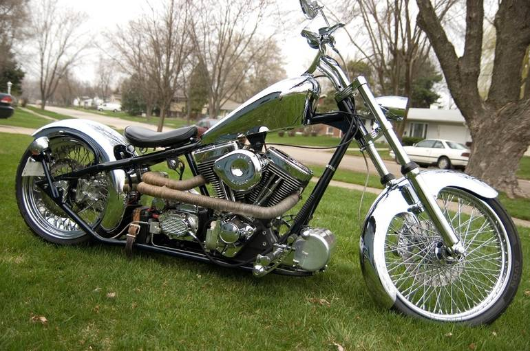 2007 Custom Chopper , motorcycle listing