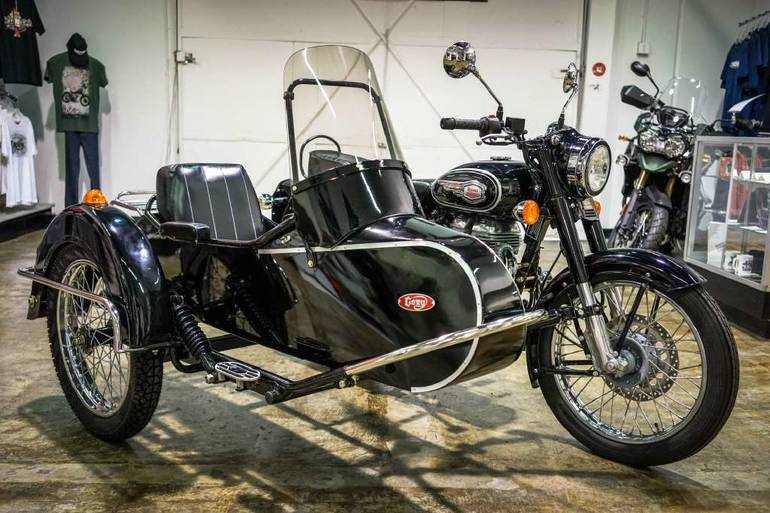 2015 Custom ROYAL ENFIELD B5 W/ SIDECAR, motorcycle listing