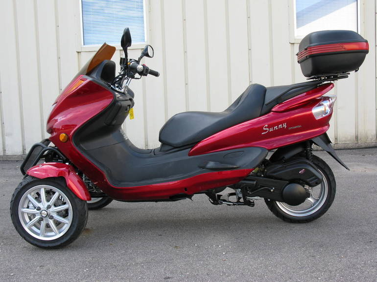 2011 Dongfang DF-150 TRIKE, motorcycle listing