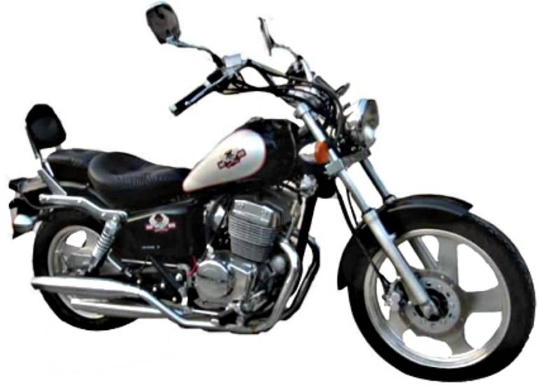 2012 Gsi  250cc Super Monarch Chopper, motorcycle listing