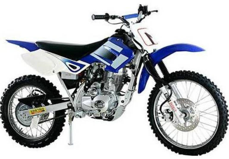 2012 Kandius 200cc Twister Dirt Bike, motorcycle listing