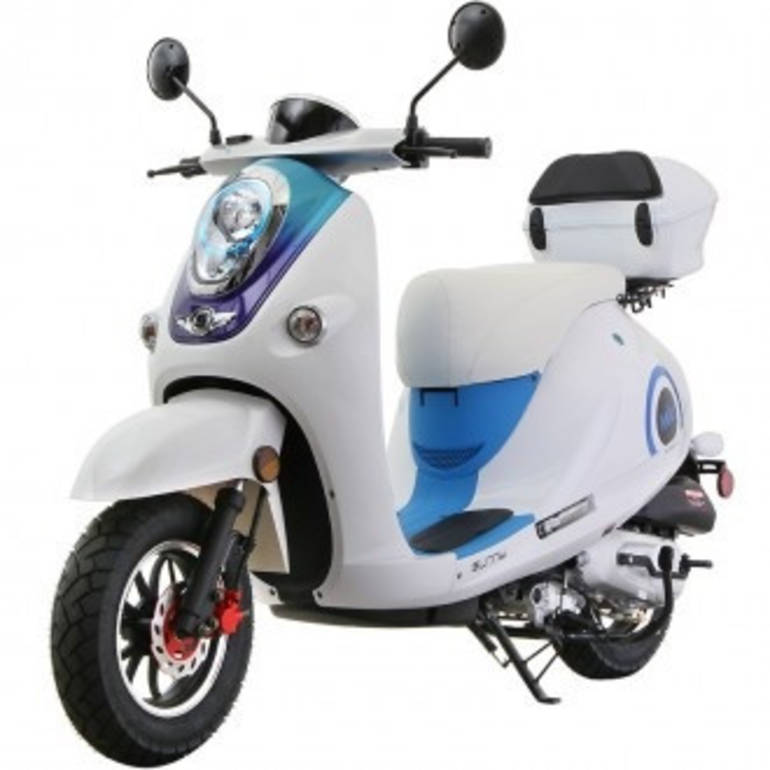 2014 Miu MC_H50_T4 2013 49cc Moped Scooter ON SALE, motorcycle listing