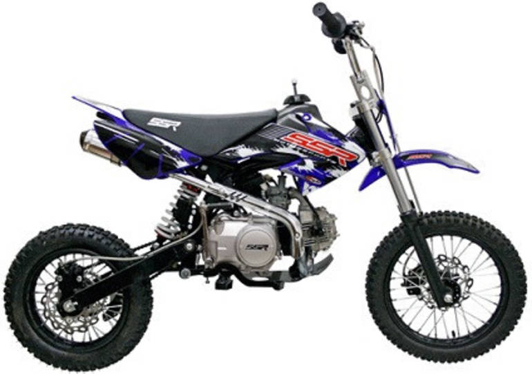 2014 Sunny 124cc SR125SEMI Dirt Bike ON SALE from SaferWholesale, motorcycle listing