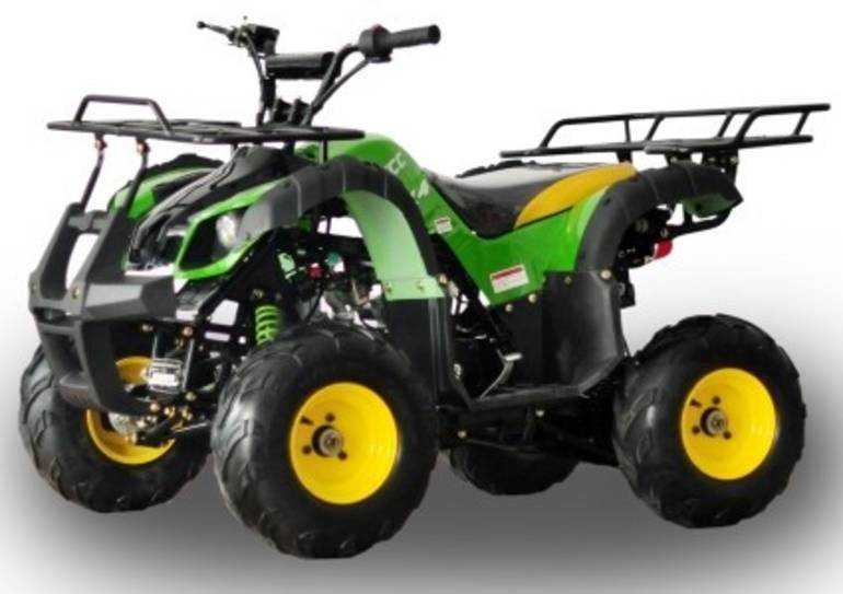 2015 Cgr 125cc Rider Atv Four Wheeler 7 Special Tractor Green Ed, motorcycle listing