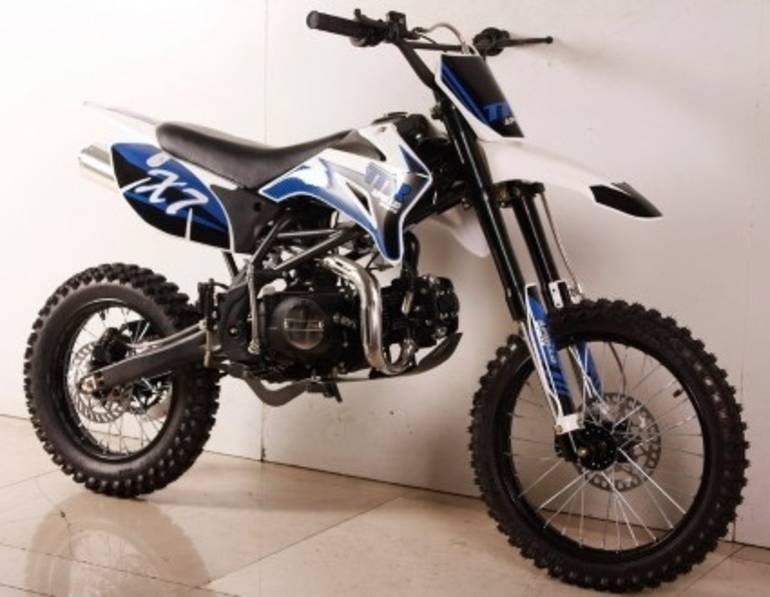 2015 Cgr Brand New 125cc Super Ravenger Motocross Dirt Bike 4-Sp, motorcycle listing
