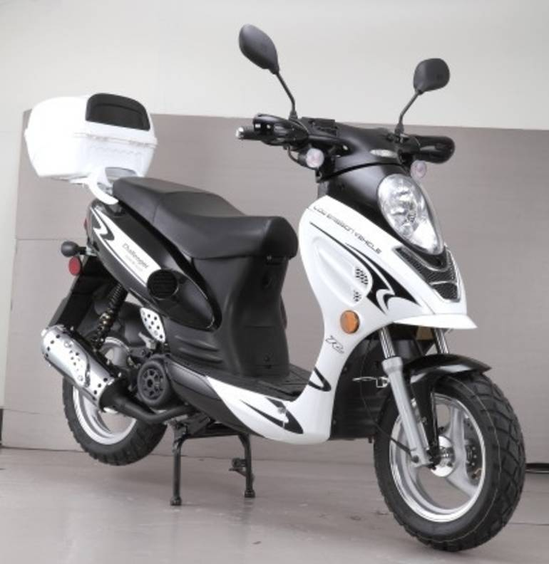 2015 Cgr Brand New 50cc Challenger Sport Moped Scooter, motorcycle listing