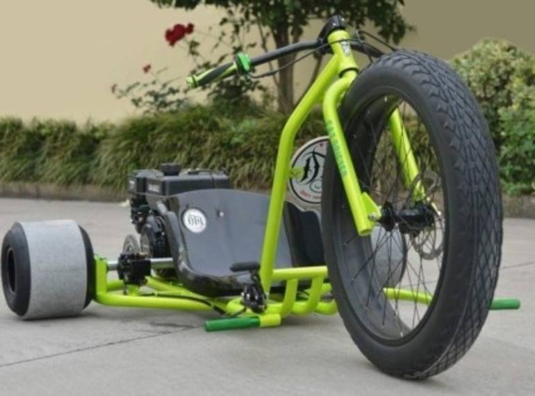 2015 Gsi Gas Powered Drift Trike Tricycle Bike Fat Ryder